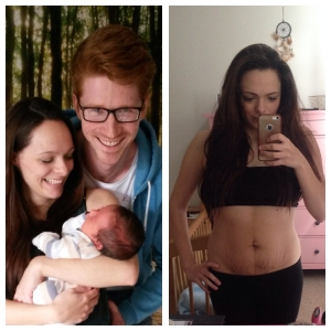 Becoming a mother and post pregnancy body.
