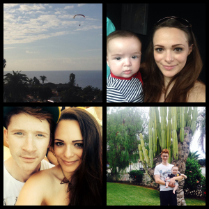 Family holiday to Tenerife 2014.