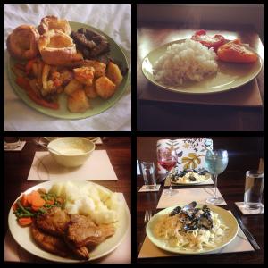 Food, glorious food.