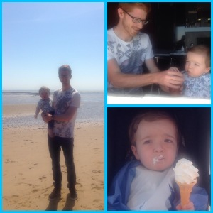 Family trip to the seaside 2015.
