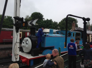 A day out with Thomas the Tank Engine 2015.