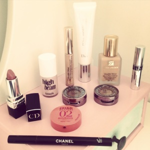 Featuring; Dior, Estee Lauder, Benefit, Bourjois, Urban Decay and Chanel.