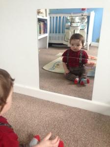 Sensory mirror.