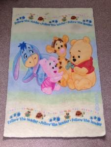 Winnie the Pooh rug.