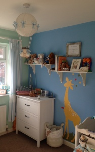 Baby boy nursery décor ideas.