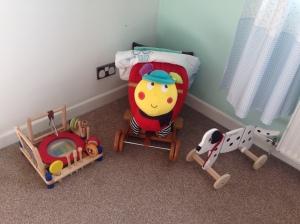 Nursery toys.