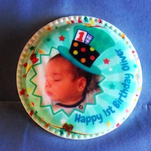 Baker Days - Letterbox cake.