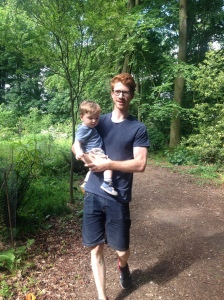 Family day out at Arley Hall & Gardens