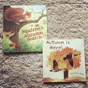 Children's books about Autumn.