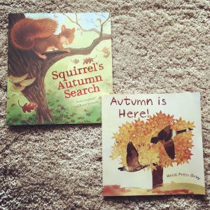 Children's books about Autumn.