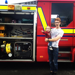 Fire station open day.