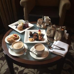 Nunsmere Hall - Afternoon tea.