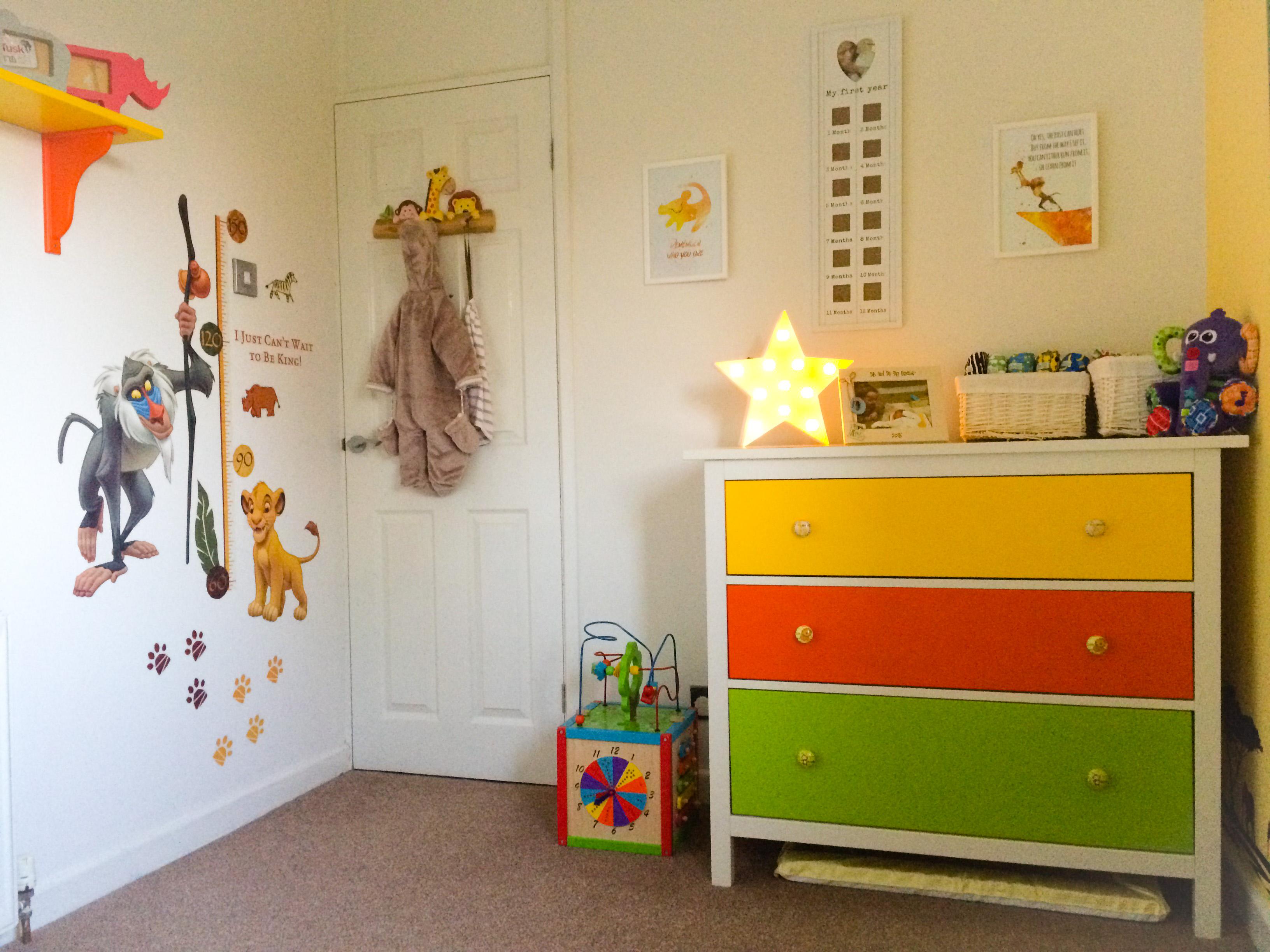 Awesome Safari / Lion King Themed Nursery