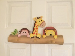Coat hooks by Teamson.