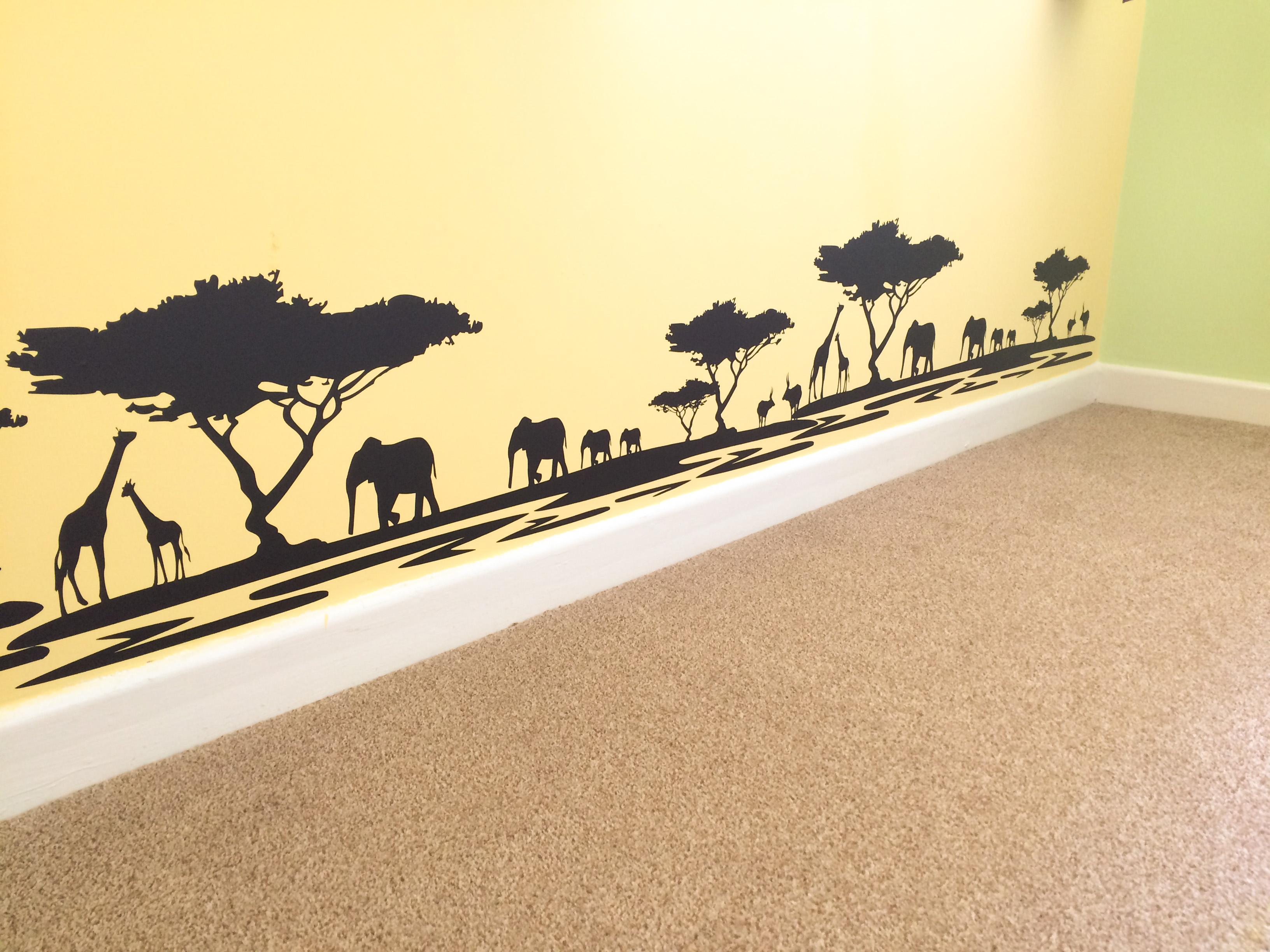 Safari / Lion King Themed Nursery