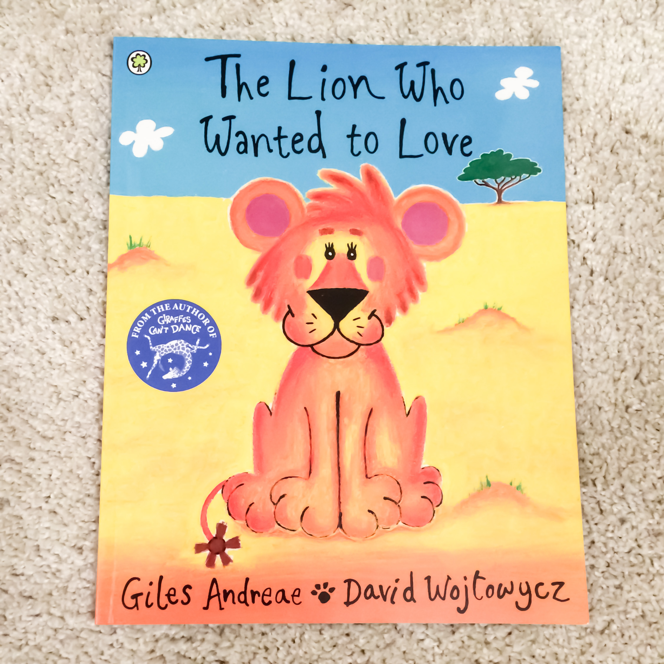 Children's Book Review: The Lion Who Wanted to Love