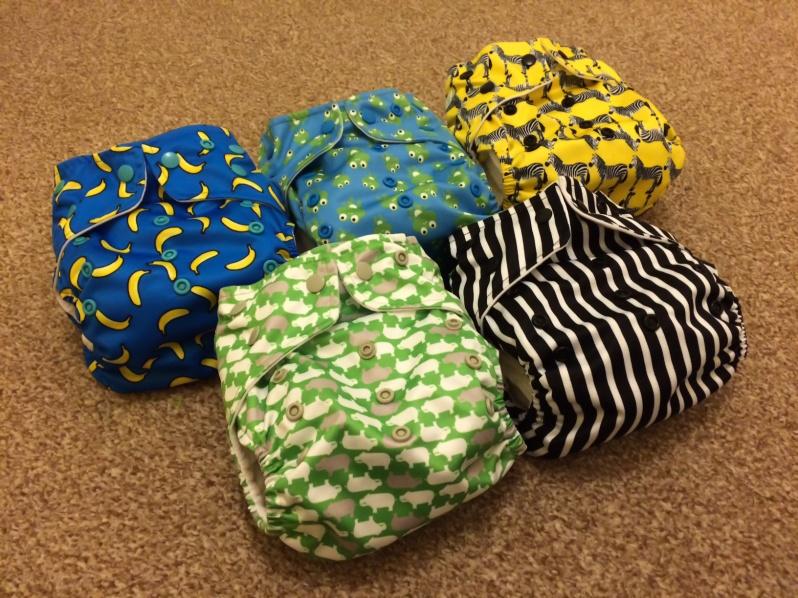 Baba + Boo cloth nappies