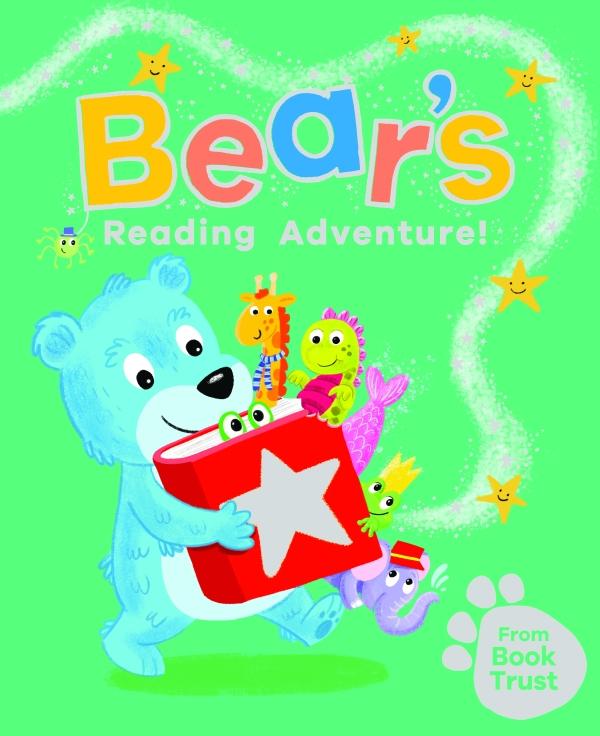 BookTrust's new book 'Bear's Reading Adventure'