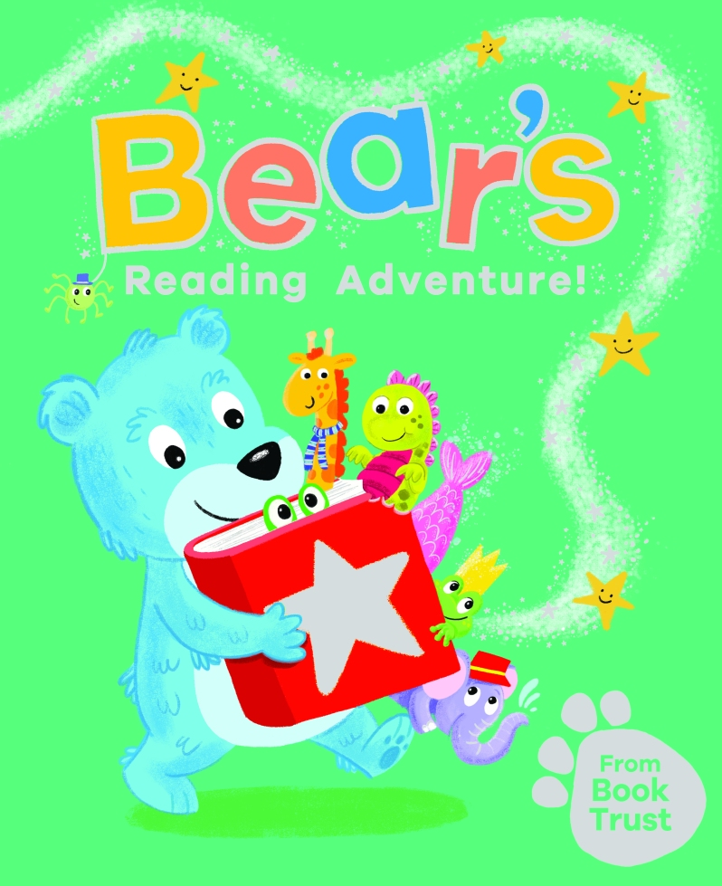 BookTrust's new book 'Bear's Reading Adventure'