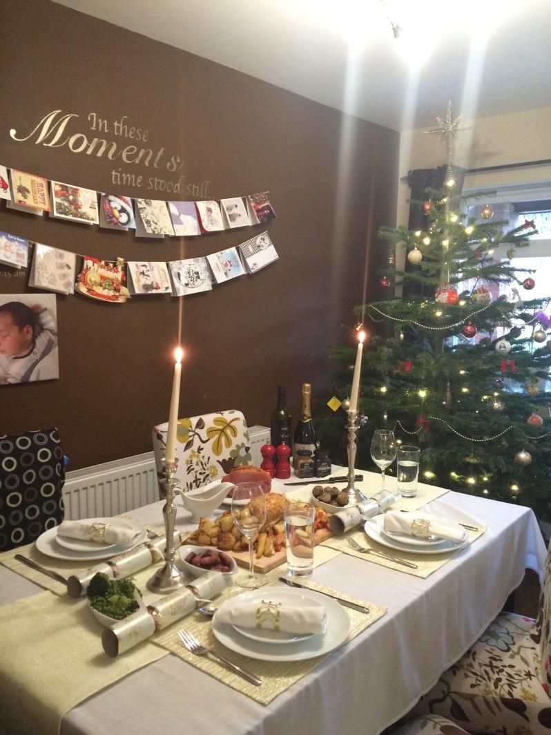 Family Christmas dinner