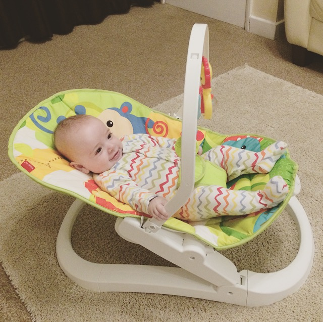 Fisher Price – Rainforest Friends Fun 'n Fold Bouncer Review
