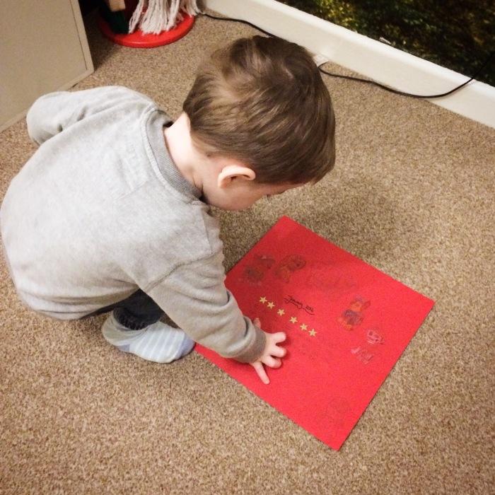 Introducing a behaviour star chart to a toddler