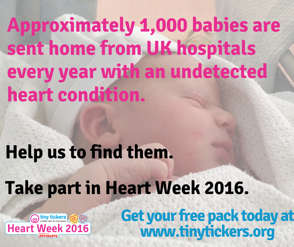 Tiny Tickers - Heart Week 2016
