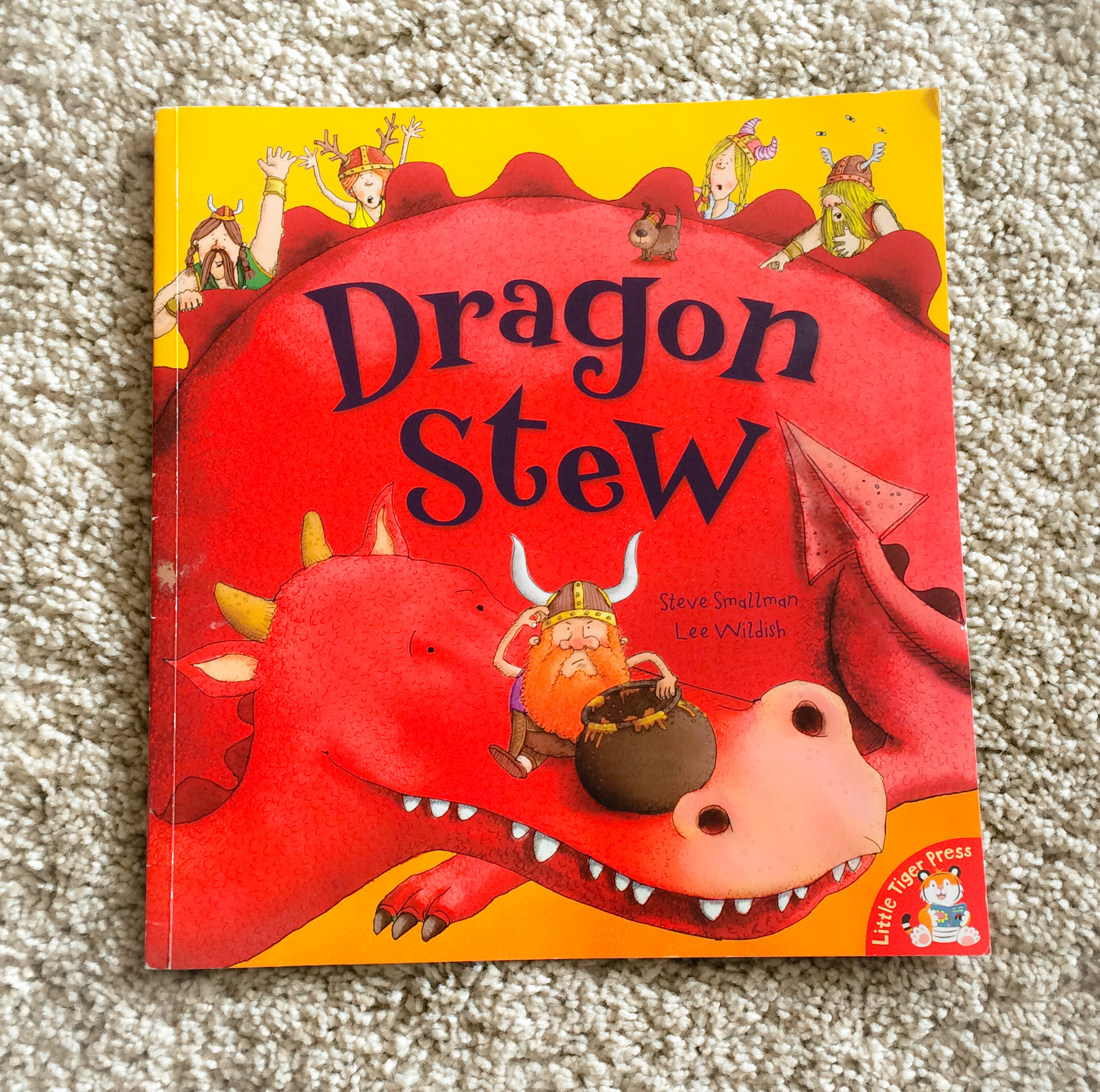 Children's book review - Dragon Stew by Steve Smallman and Lee Wildish