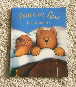 Children's book review - Peace at Last by Jill Murphy