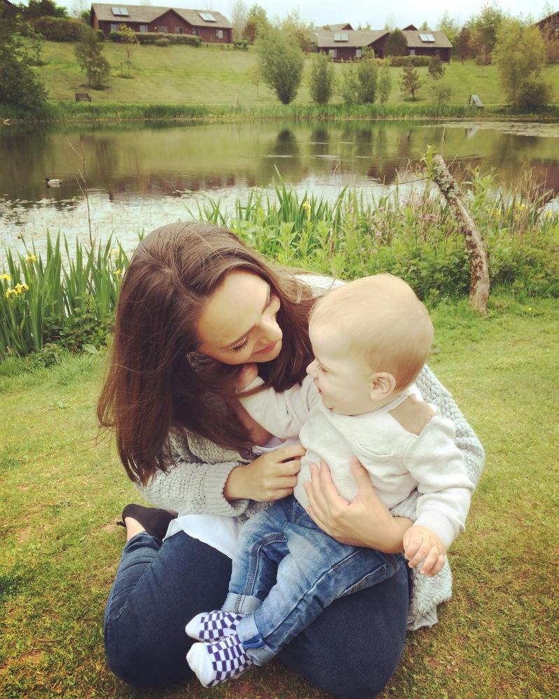 Blueston Wales - Mummy and Elijah