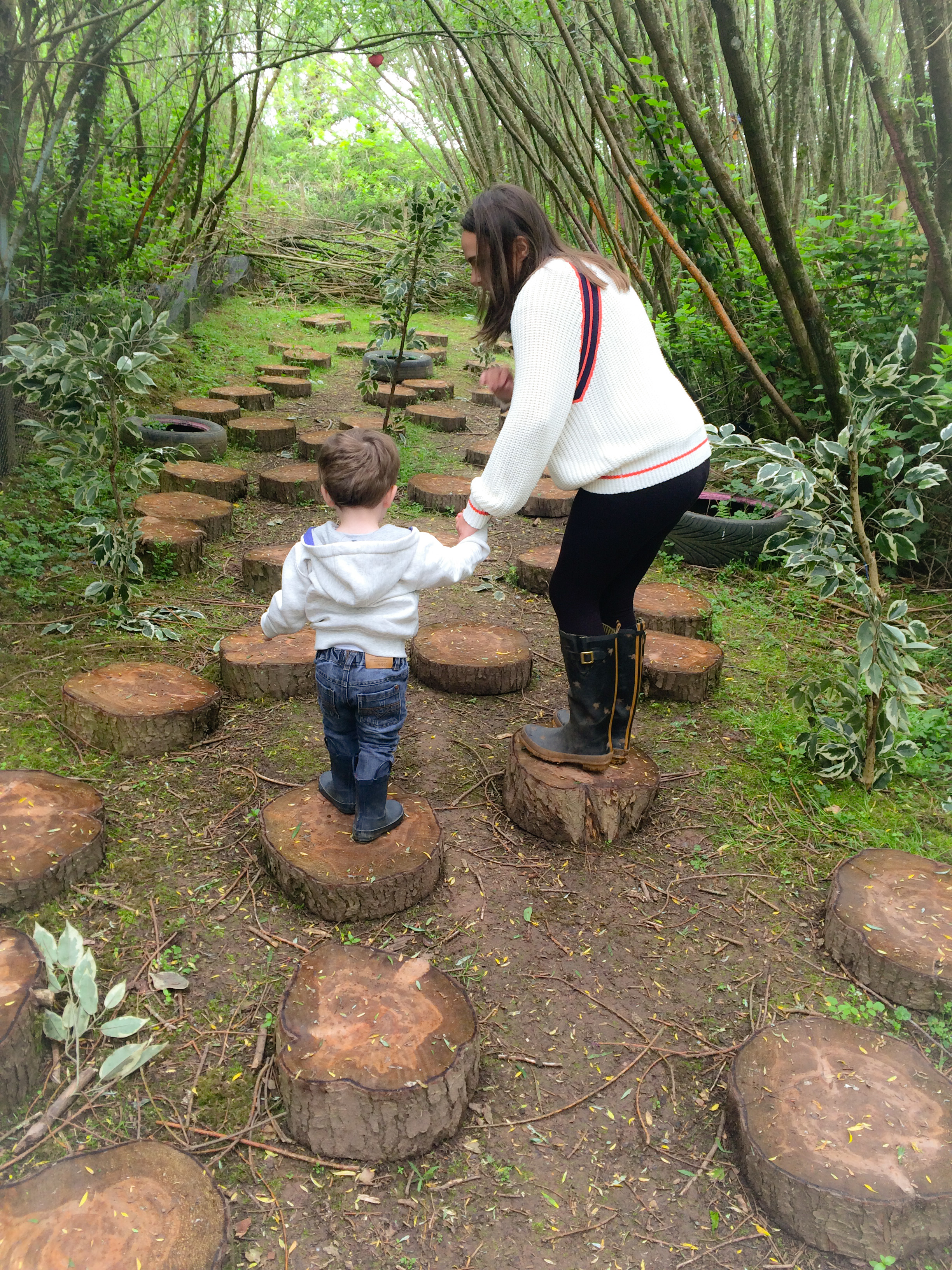 Bluestone Wales - The Secret Village trail