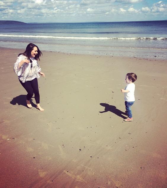 Bluestone Wales - Saundersfoot beach