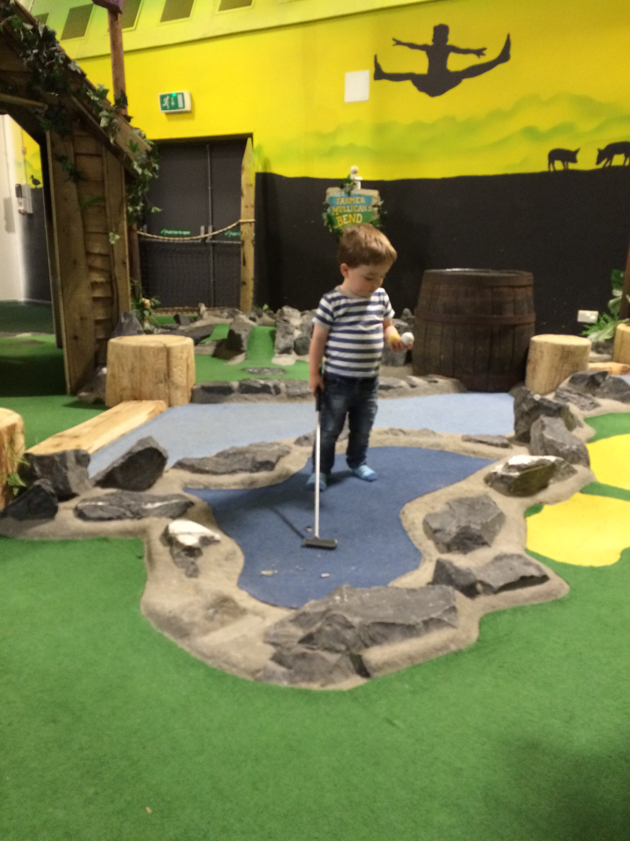Bluestone Wales - Mini Golf