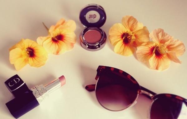 Orange tones - Urban Decay and Dior makeup review
