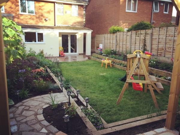 Child friendly family garden