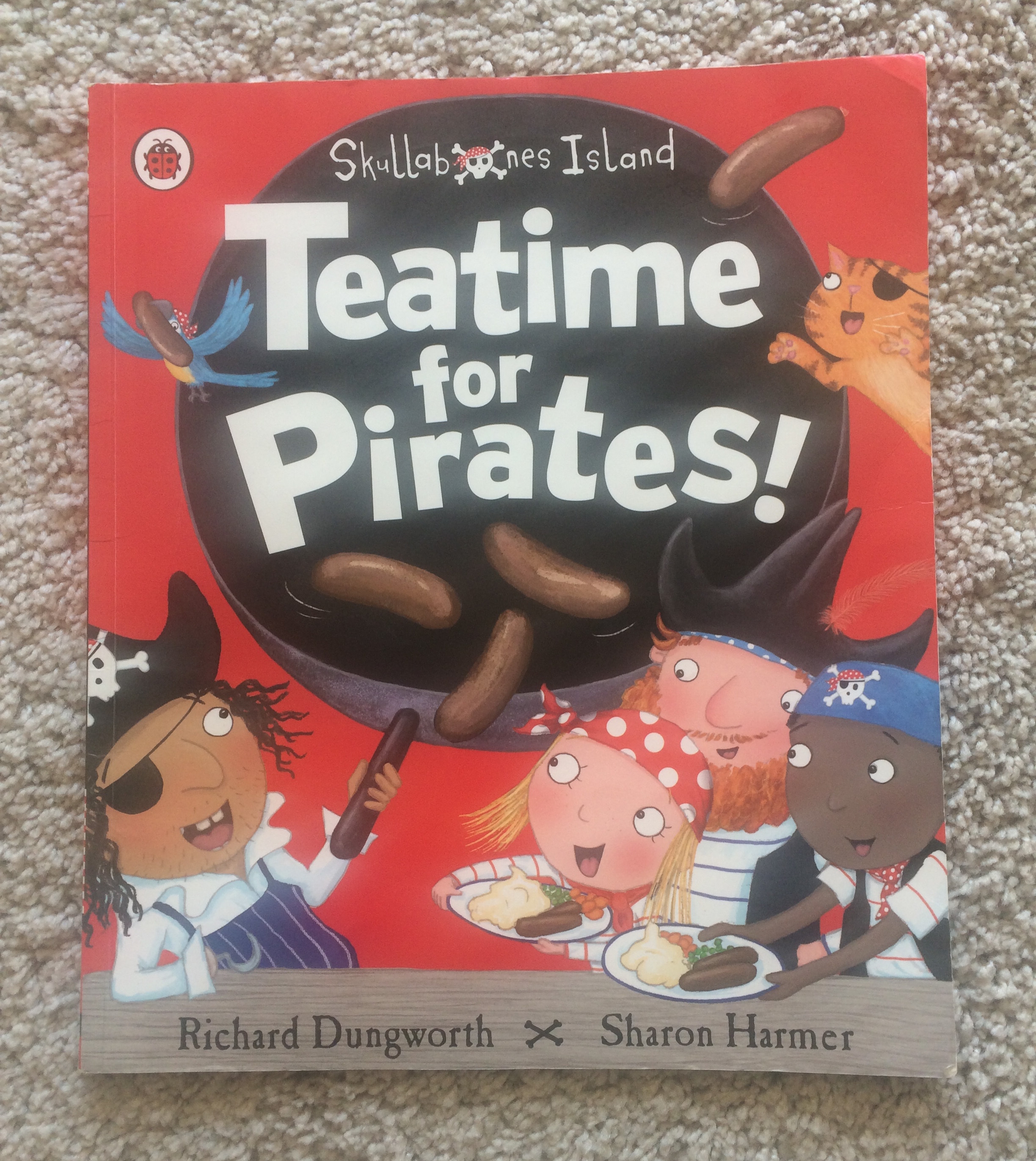 Teatime for Pirates by Richard Dungworth and Sharon Harmer