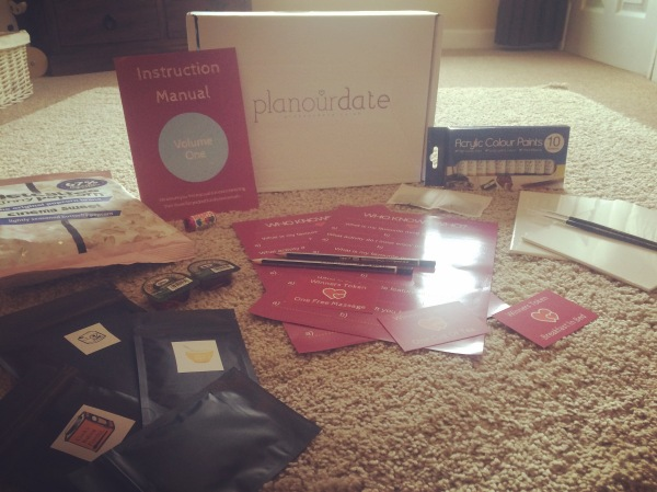 Plan Our Date - Datebox