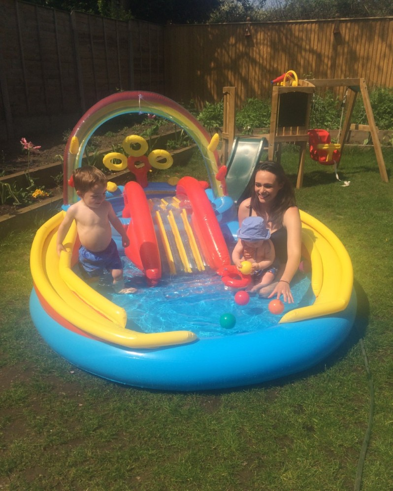 Summer 2016 - Paddling pool fun