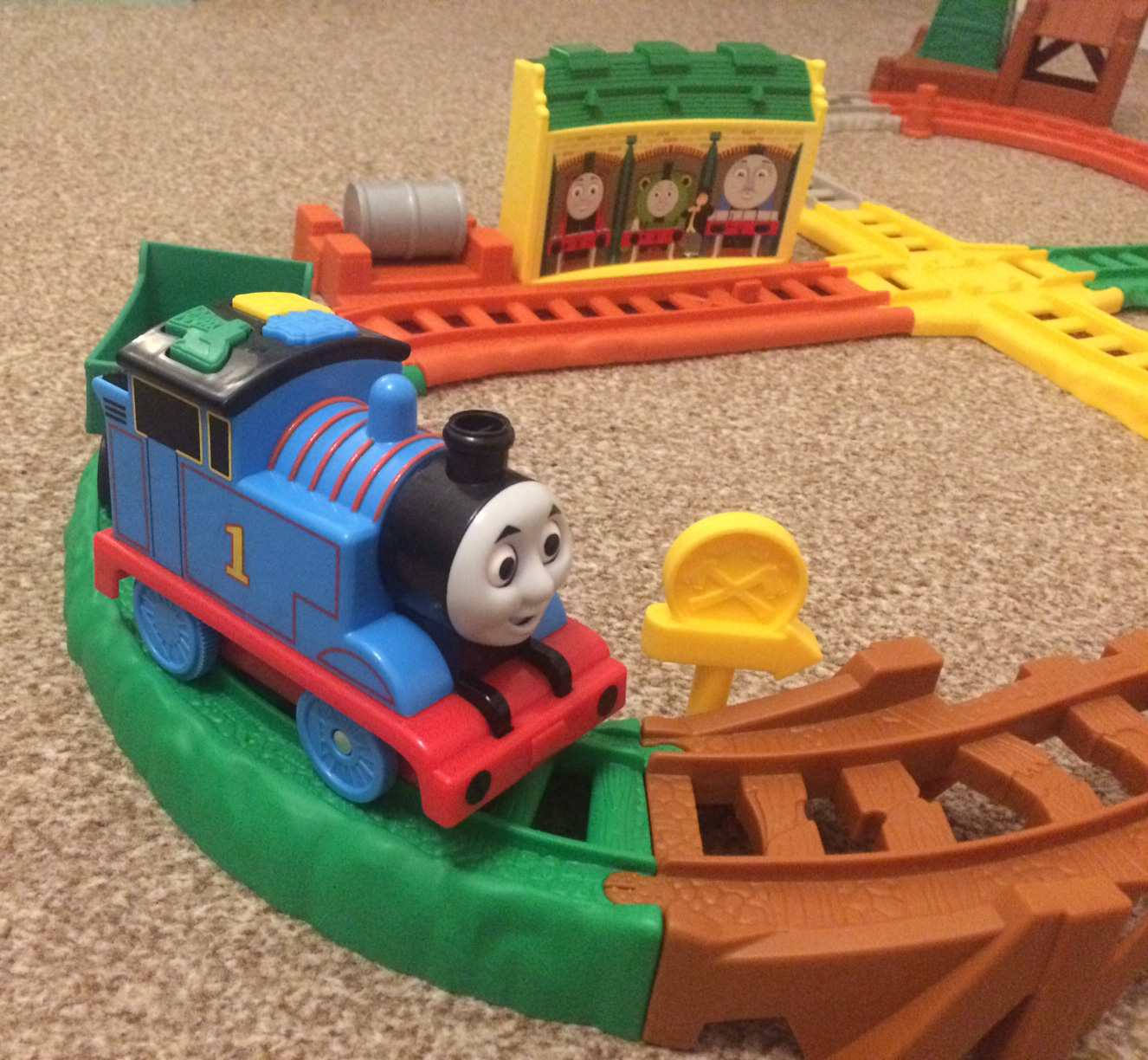 All Around Sodor interactive train set review