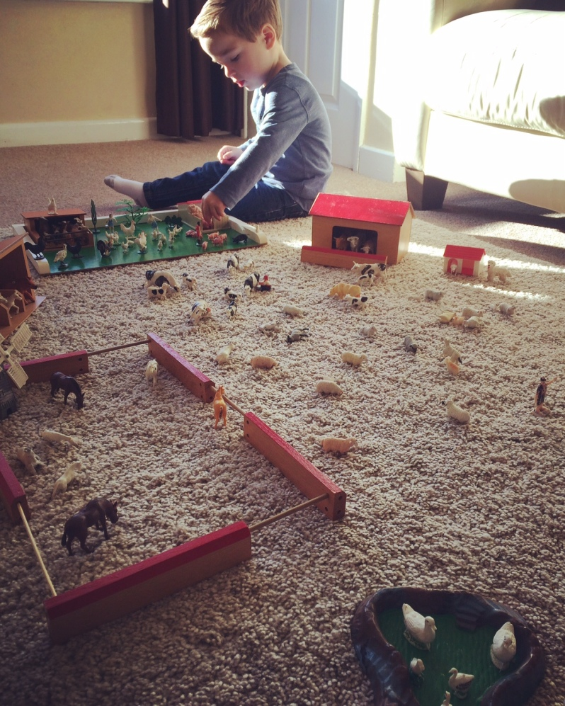 Vintage toys - Farmyard fun