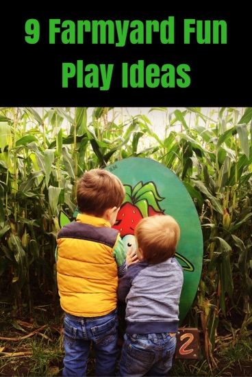 Farmyard Fun Play Ideas - Sensory, messy, imaginative play & fun days out