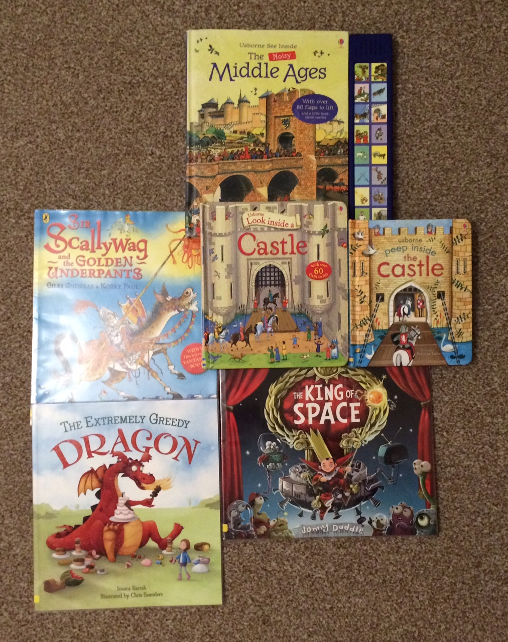 Castle themed books for toddlers