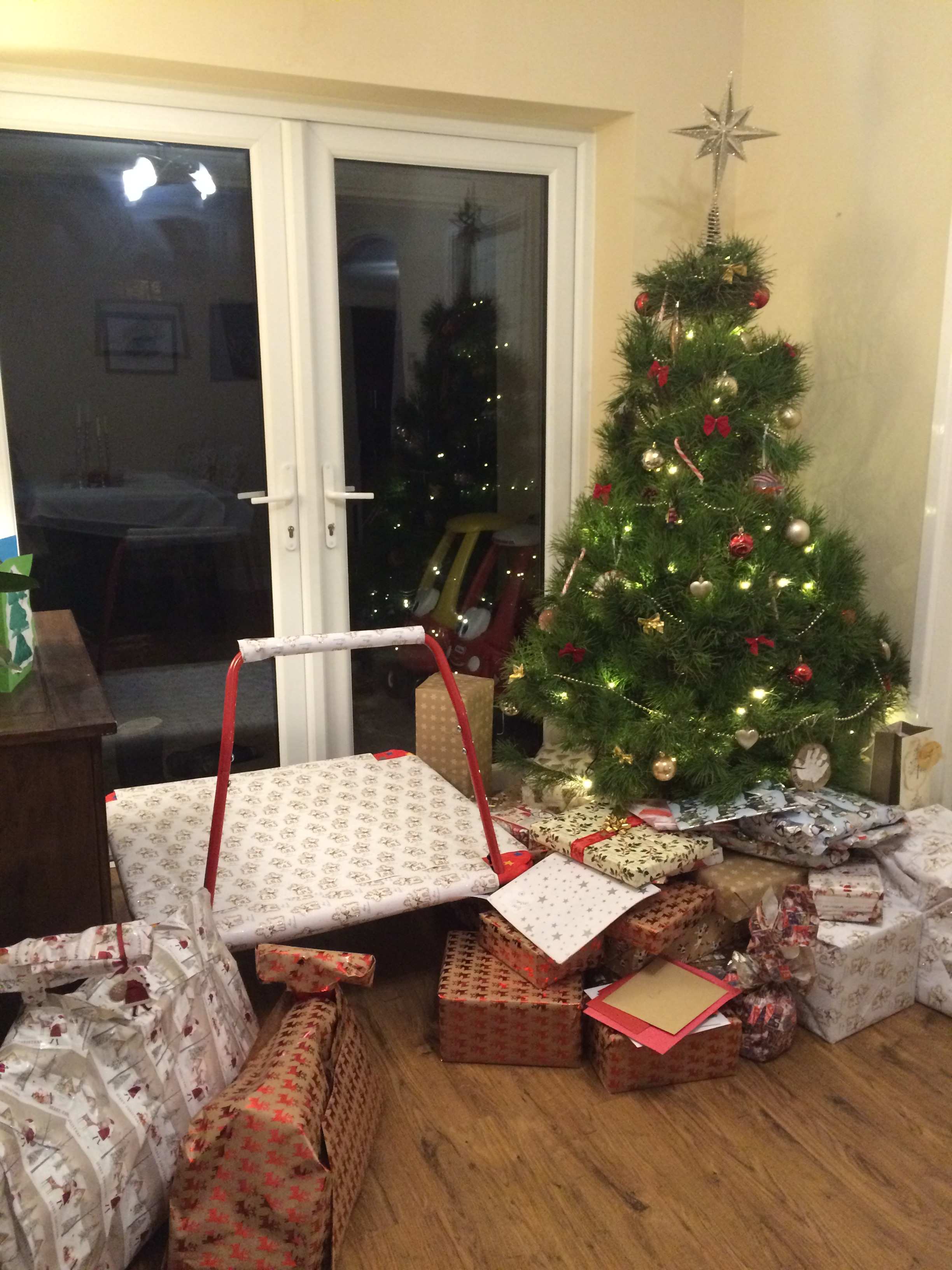 At home with Mr & Miss. C - Christmas 2016