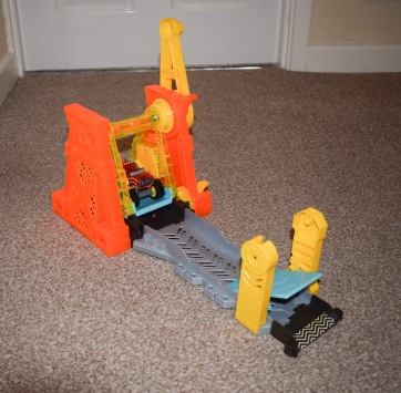 Blaze Light and Launch Hyper Loop Playset